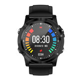 Bakeey T5 Full Round HD Screen Wristband Heart Rate O2 Monitor 7 Sports Mode Multi-language Smart Watch