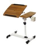 360 градусов регулируемый угол и высота качения ноутбука подставка для ноутбука над столом диван-кровать