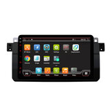 YUEHOO 8 Polegada 4 + 32G para Android 9.0 Carro Rádio Estéreo 8 Núcleo IPS MP5 DVD Player bluetooth GPS WIFI 4G RDS para BMW E46