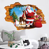 Miico XH7247 Christmas Sticker Home Decoration Sticker Fenster- und Wandaufkleber Shop Decorative Stickers