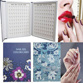 180 Color Nail Tips Chart Display Book For Nail Art Set Polish Salon Design