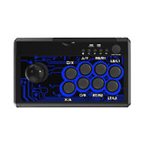 DOBE TP4-1886 7 in 1 Retro Arcade Fighting Analog Stick Game Controller Joystick Rocker for Switch PS4 PS3 for XBox One/360 PC Android Games