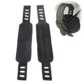 Adjustable Generic Exercise Bike Bicycle Pedal Straps Belt