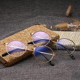 Anti-mavi Işık Retro Bilgisayar Çember Temizle Lens Gözlükler
