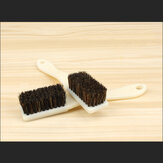 MYTEC 4/6row Pig Bristle Brush Collectables - Autograph Tools for Maintenance Cleaning Walnut Bristle Brush Polishing and Oil Brush Tool