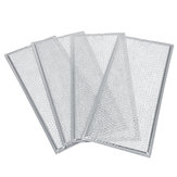 WB06X10596 4pcs Aluminum Mesh Grease Microwave Oven Filter Replacement for Ge
