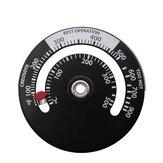 Thermomètredepoêlemagnétiquechauffépar la chaleur pour le bois poêle à bois poêle poêle brûleur ventilateur thermomètre cheminée outils