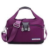 Women Large Capacity Multi-Pocket Shoulder Bag