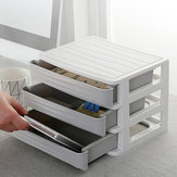 Office Desk Storage Box Drawer Type Cosmetics Multi-layer Storage Cabinet Debris Storage Bag