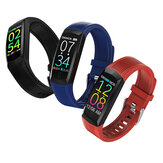 Bakeey Q21 Color Display Heart Rate Blood Pressure Oxygen Monitor Call Rejection Smart Watch