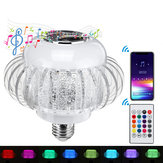 AC110-220V 6W Wireless Music E27 bluetooth LED Bulb Lamp 5050 RGB Color Stereo Audio Speaker