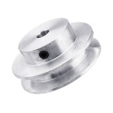 40MM Single Groove Pulley 4-12MM Fixed Bore Pulley Wheel for Motor Shaft 6MM Belt