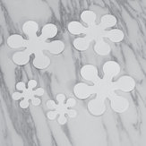 8Pcs Snowflake Style Non-slip Stickers Home Bathroom Bath Tub Anti Skid Tape Waterproof Decorations