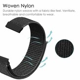20mm Nylon Canvas Watch Bande Remplacement de la sangle de la montre intelligente Amazfit GTS