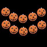 Halloween Pumpkin LED Guirlande Lumineuse 1.5 M 4 M Batterie Actionné Lanterne Maison Parti Vintage Lampe
