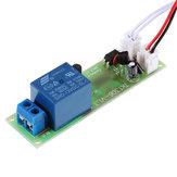 Módulo de retransmissão multifuncional de retardo de tempo TK1305A 12V DC com isolamento por acoplador óptico