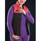 Front Zipper USB Electric Heated Thermal Bodysuit Down Waistcoat For Adult