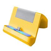 Triángulo portátil Type-C Soporte de carga Soporte Cargador Estación Dock para Nintendo Switch Lite Consola de juegos