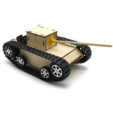 Smart DIY Robot Tank STEAM Educational Kit  Robot Toy