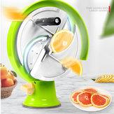 Rvs Fruit Groentesnijmachine Citroensnijder Handleiding voor commerciële handgemaakte gereedschappen