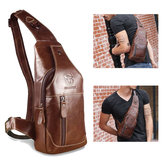 Bullcaptain Bag Men Genuine Leather Business Casual Bag