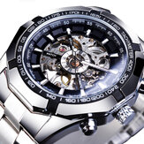 Forsining S101 Fashion Men Watch 3ATM Impermeable Luminous Pantalla Mecánico Reloj
