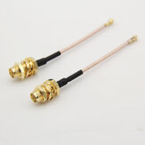 Mini IPEX UFL. IPX to SMA/RP-SMA Adapter Cable Antenna Extension Wire 20*20 for Micro VTX RX FPV System