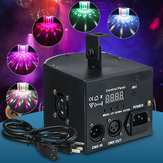 DMX512 18W LED RGB Stage Light DJ Club Disco Dance Party Show Effect Light for Party Wedding Christmas