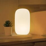 Qualitell ZS2003 USB pengisian silikon dipimpin cahaya malam, Oranye merah lampu tidur, Membaca cahaya, Pintar waktu Shutdown dari Xiaomi Youpin