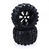 1/8 Monster RC Car Wheels Tires For Redcat Rovan HPI Savage XL MOUNTED GT FLUX HSP ZD Racing Parts