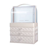 Desktop Makeup Organizer Clear Comestics Make-up Aufbewahrung Comestics Make-up Aufbewahrungsbox Container