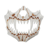 Halloween Resin Mask Animal Theme Party Face Skull Mask Costume Cosplay Party