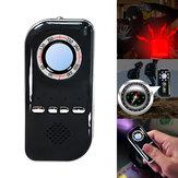 Multifunktions-Tools Infrarot-Detektor Anti-verlorene Anti-Diebstahl-Alarm Kompass Violet Detector Camping Survival Tool