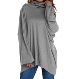 Women Long Sleeve Loose Pullover Tops