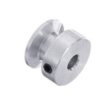 20MM Single Groove Pulley 4/5/6/8/10MM Fixed Bore Pulley Wheel for Motor Shaft 6MM Belt