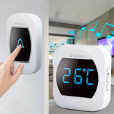 Smart Temperature Wireless Waterproof Doorbell 45 Chimes 200M Long Range Real-time Thermometer