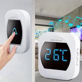 スマートな温度の無線防水ドアベル45は200Mの長期実時間温度計を鳴らします