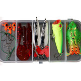 17-101 Pcs Fishing Lure Set Fishing Tackles Kit Baits Hooks