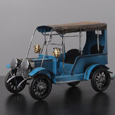 Xmas Old Vintage Diecast Model Car Home Decor Decorations Ornaments Handmade Gift