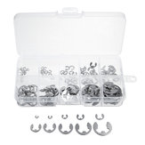 120PCS Stainless Steel E-Clip Snap Ring Assortment Kit Retaining Circlip HandWare Tools 1.5 2 3 4 5 6 7 8 9 10 mm