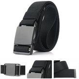 AWMN 125cm x 3.8cm Zinc Alloy Magnetic Buckle Quick Release Nylon Belts