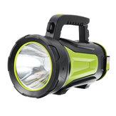 3000lm LED-campinglamp 3 standen Waterdichte werklamp 8000 mAh Handlamp USB Oplaadbare schijnwerper