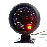 3.75 Inch 95mm DC12V 0~8000RPM Car Tachometer Gauge