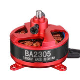 Racerstar RC Brushless Motor BA2305 1600KV Support 1S 2S 3S 8060 9050 Prop for Fixed Wing RC Airplane Drone