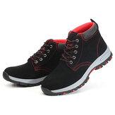 Erkekler Güvenlik Ayakkabıları Çelik Burunlu İş Koruyucu Eğitmenler Botlar Yürüyüş Ayakkabıları