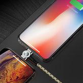 Bakeey Вращающийся на 180 градусов плетеный Type C Micro USB Магнитный кабель для передачи данных для iPhone 11 Pro XS Huawei P30 Pro Mate 30 Mi9 9Pro S10 + Note10