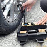 12V Automatic Tire Inflator Electric Car Air Pump Compressor Portable Digital