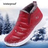 Original              Women Plush Lining Waterproof Non-slip Casual Shoes