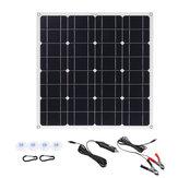 150W 18V Mono Solar Panel USB 12V / 5V DC Monokristalin Esnek Solar Şarj Cihazı Araba RV Bot Batarya Şarj Cihazı Su Geçirmez