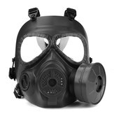 Fan factice de masque à gaz factice Airsoft Paintball pour Wargame - Équipement de protection